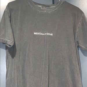 WildRoot Mentally Gone Grey Shirt M